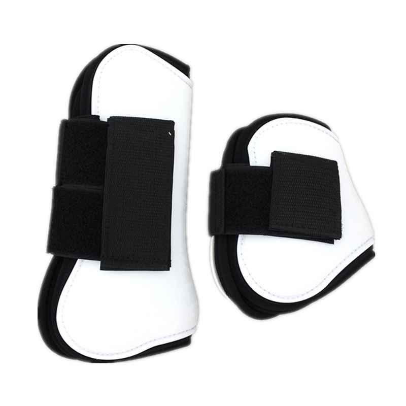 Конские сапоги для поврежденного сухожилия полиуретановая оболочка Неопреновая подкладка прыжки защитные сапоги