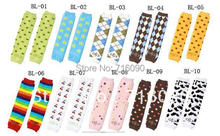 5pairs/lot choose styles cartoon Long baby leg warmers winter 10 patterns dr0004-14
