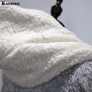 Image 5 - Frauen Winter Warm Flanell Bad Robe Frauen Lange Handtuch Bademantel Frauen Dressing Kleid Weibliche Nette Bär Kimono Nachtwäsche Braut Robe
