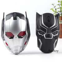 Original Marvel Toys Avengers Civil War Ant Man Ant Man Black Panther Bluetooth Wireless Mouse Mouse Gaming LED Compuer Mouse