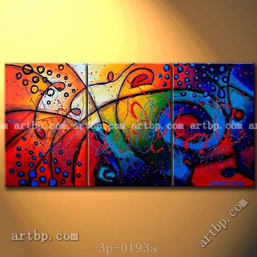 The Musical Explosion Oil Painting On Canvas Fine Acrylic