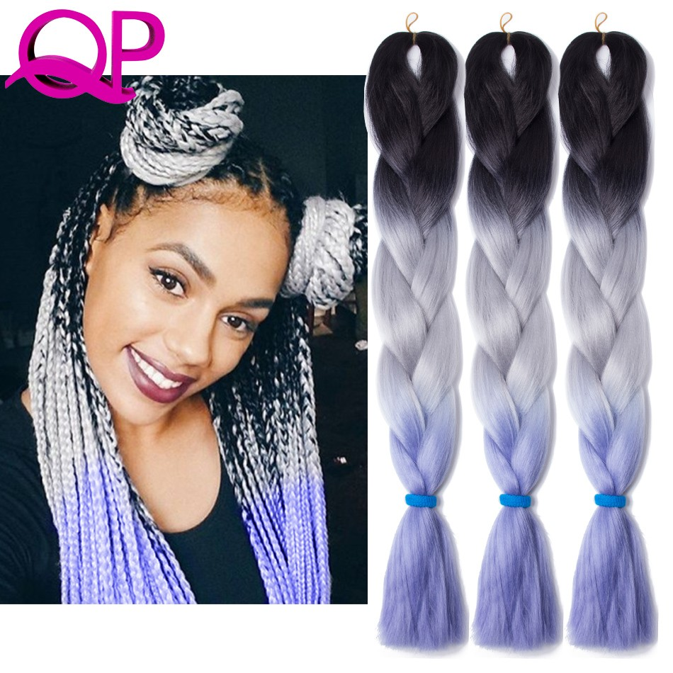 aliexpresscom buy ombre braiding hair three tone
