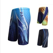 Hot sale men's Printing Swimming Shorts swim trunks in mens briefs Sport shorts Professional men swimwear