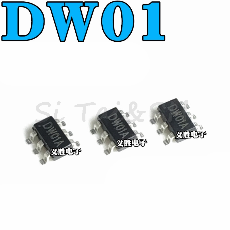 20PCS DW01 DW01D DW01A SOT23-6 SOT SMD New And Original IC New Original