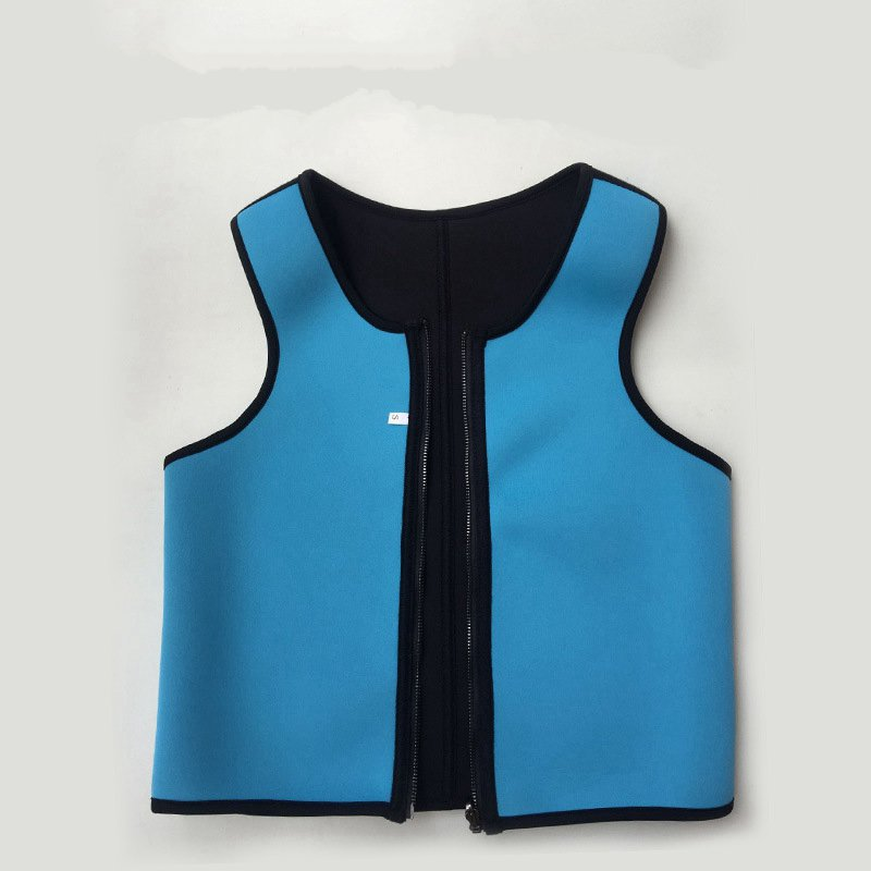 unisex zipper Double-sided multi-purpose snorkeling scuba diving material polyester body fat burning men and women sporty vest