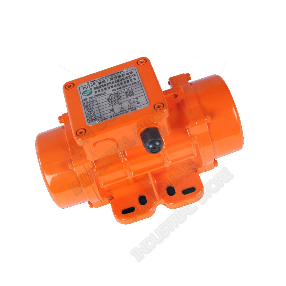 220V 1PH 180W 155KG Strong Force Vibrate Vibration Motor Waterproof dustproof for Mining Blanking Mixer Building