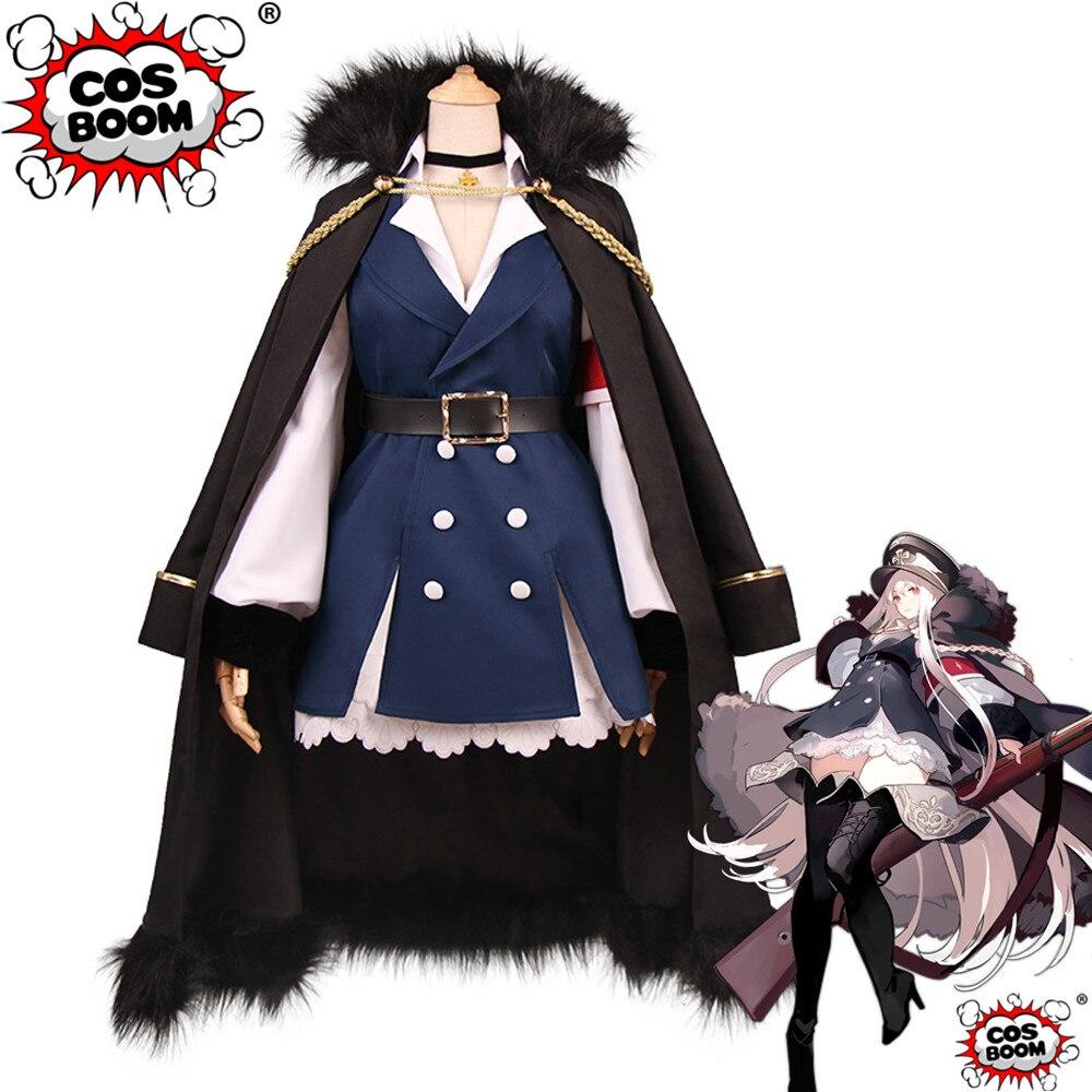 COSBOOM Girls Frontline Cosplay Kar98k Costume Game Battle Uniform Halloween Carnival Karabiner 98 kurz Outfit Cosplay Costume