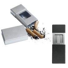 1pc Aluminum Mini Portable Smoking Ashtray