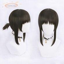 Japanese Anime Hanebado Ayano Hanesaki Cosplay Wig Hair Halloween