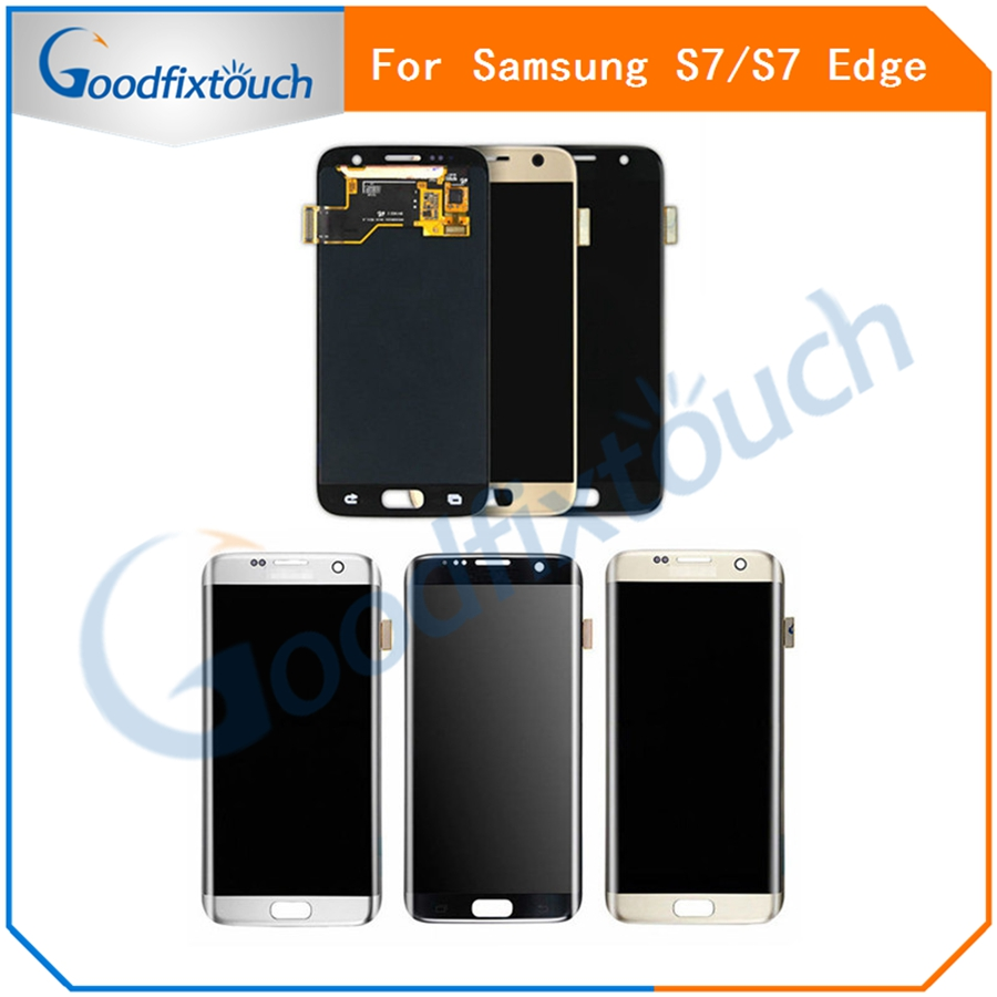 for samsung galaxy s7 edge g935 g935f lcd display touch screen digitizer assembly for samsung s7. Black Bedroom Furniture Sets. Home Design Ideas