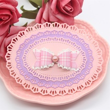Lace Oval Frame Metal Cutting Dies for Scrapbooking
