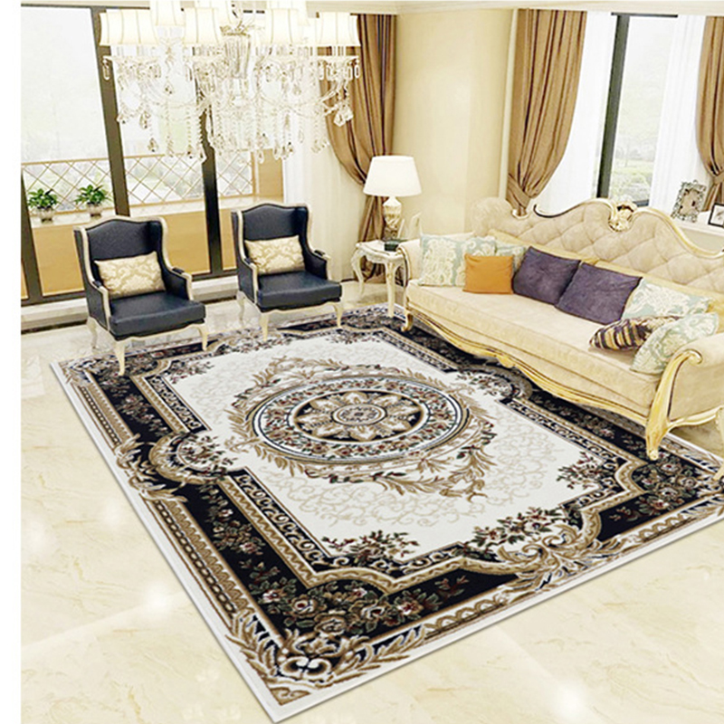 Retro Bedroom Chairs Persian Carpet Bedroom Blue Grey Bedroom Colour Scheme Bench Seat For Bedroom: Retro Persian Large Size Living Room Carpet, Classical