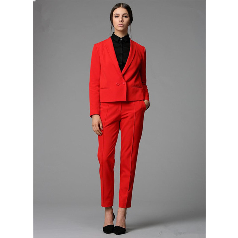 Lady Femmes Personnalisé Trailblazer same Blanc Automne Red burgundy Blue Bureau red As gray De Costume khaki purple pink Affaires navy Élégant light yellow Pantalon Charcoal Gray black rose Blue sky Picture royal Formel AAPnr