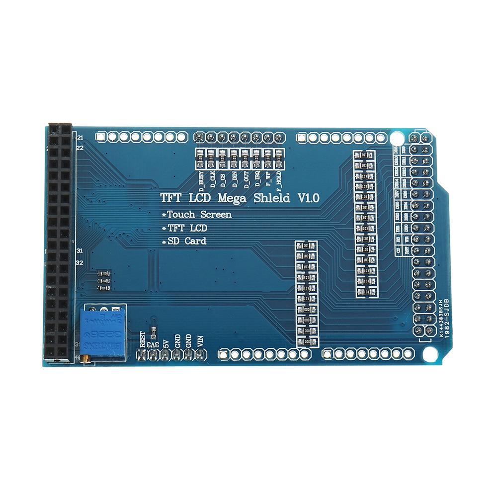 NEW 3.3V TFT LCD Adjustable Shield Expansion Board Module For Arduino Mega 2560 R3 3.2NEW 3.3V TFT LCD Adjustable Shield Expansion Board Module For Arduino Mega 2560 R3 3.2
