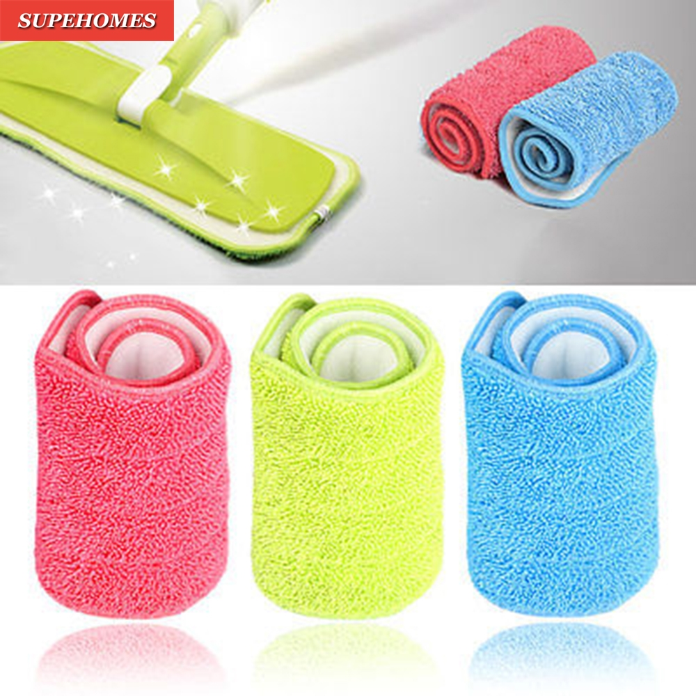 2017 Hot Sale Home Use Mop Microfiber Pad Practical Household Dust Cleaning Reusable Microfiber Pad For Spray Mop 3 Colors 2016 hot sale 3 colors 100