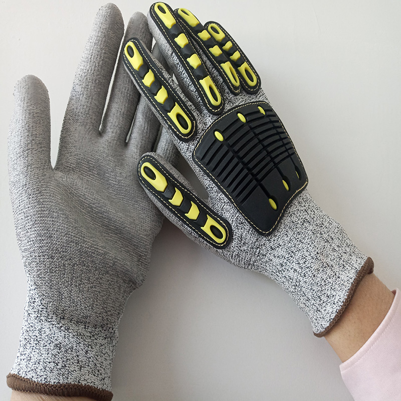 Level 5 Anti-cut Gloves TPR non-slip Gloves Mechanical Rescue Working Safety Outdoor Sports Mountaineering Anti-collision GloveLevel 5 Anti-cut Gloves TPR non-slip Gloves Mechanical Rescue Working Safety Outdoor Sports Mountaineering Anti-collision Glove