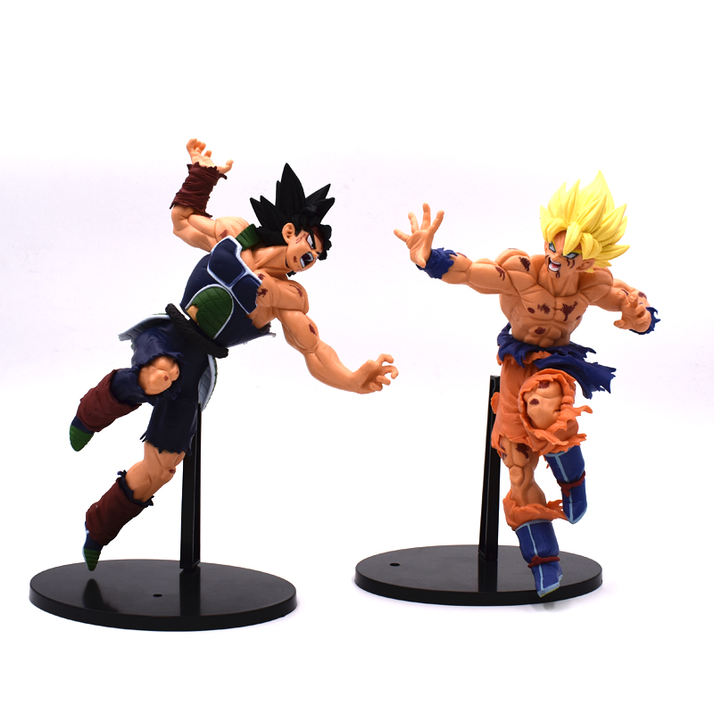 Dragon Ball Z Action Figures Son Goku Bardock PVC Model Fighting Tenkaichi Budokai Dragon Ball Anime Figure Kids Toys Best Gift