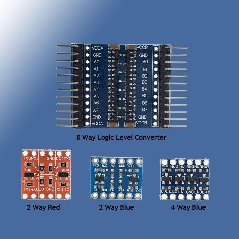 5pcs I2C IIC  4 Channel Logic Level Converter Module Bi-Directional for Arduino