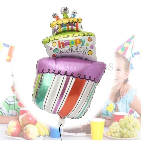 Kuchang Large mini birthday cake gift cake aluminum ...