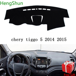 For CHERY TIGGO 5 2014 2015 2016 2017 Car Styling Dash Mat Dashmat Dashboard Sticker Cover Sun Shade Dash Board Cover Carpet