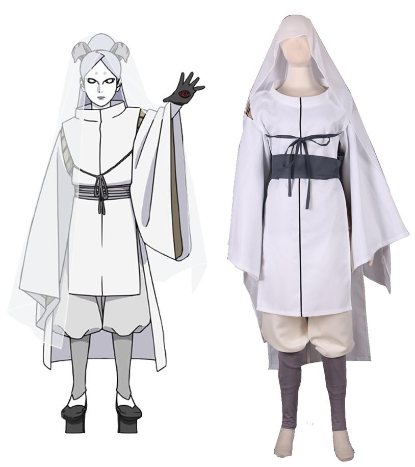 Free Shipping Boruto: Naruto the Movie Ootutuki Momoshiki Kimono Anime Cosplay Costume