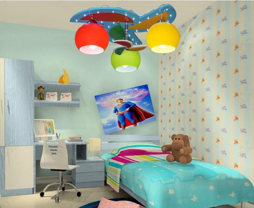 Plafond verlichting met heads voor baby jongen meisje kids