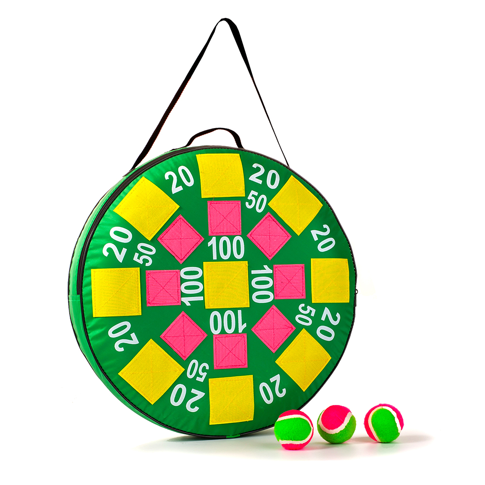 Mealivos Inflatable Dart Ball Target toss Game,Inflatable Dart Board with Balls Outdoor party Game