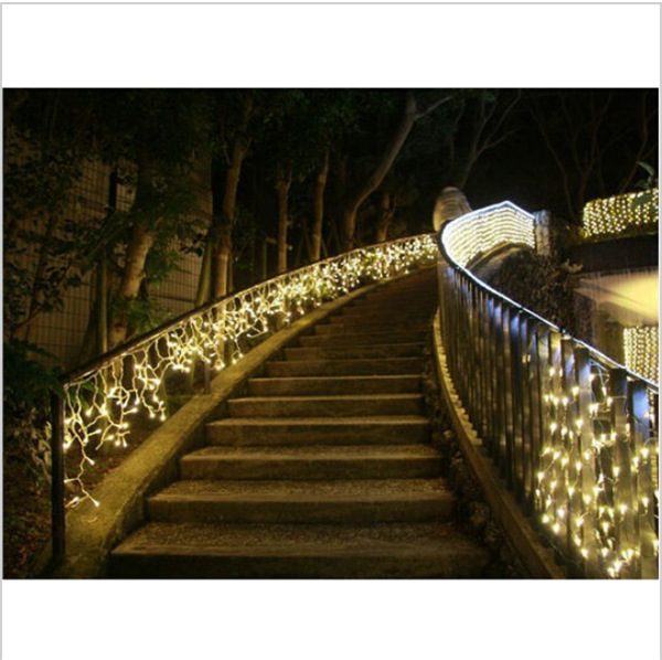 2pcs US Plug 3.5Meters Width 220V LED Christmas Lights Outdoor Luces de Navidad for Wedding Decoration with 96Leds ...