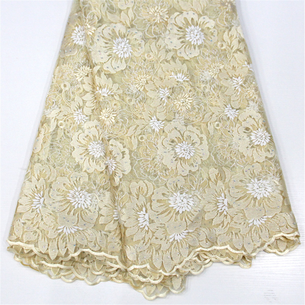 HFX 5yards design 2018 High quality nigerian french lace african lace fabric for party dress ,Free shippi GF226-2HFX 5yards design 2018 High quality nigerian french lace african lace fabric for party dress ,Free shippi GF226-2