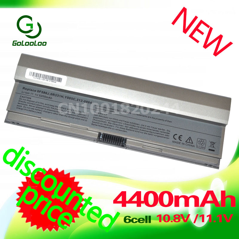 Golooloo <font><b>Battery</b></font> for dell Latitude <font><b>E4200</b></font> 00009 312-0864 451-10644 F586J 453-10069 R331H R640C R841C W343C W346C X784C Y082C image