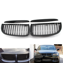 Racing Grilles Car Front Kidney Grille Gloss Black  for BMW E90 E91 2005-2008