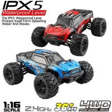 G172 1/16 2,4G 4WD 36 km/h High speed Off road Bigfoot RC Auto RTR