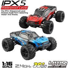 G172 1/16 2,4G 4WD 36 км/ч высокоскоростная внедорожная машина Bigfoot RC RTR