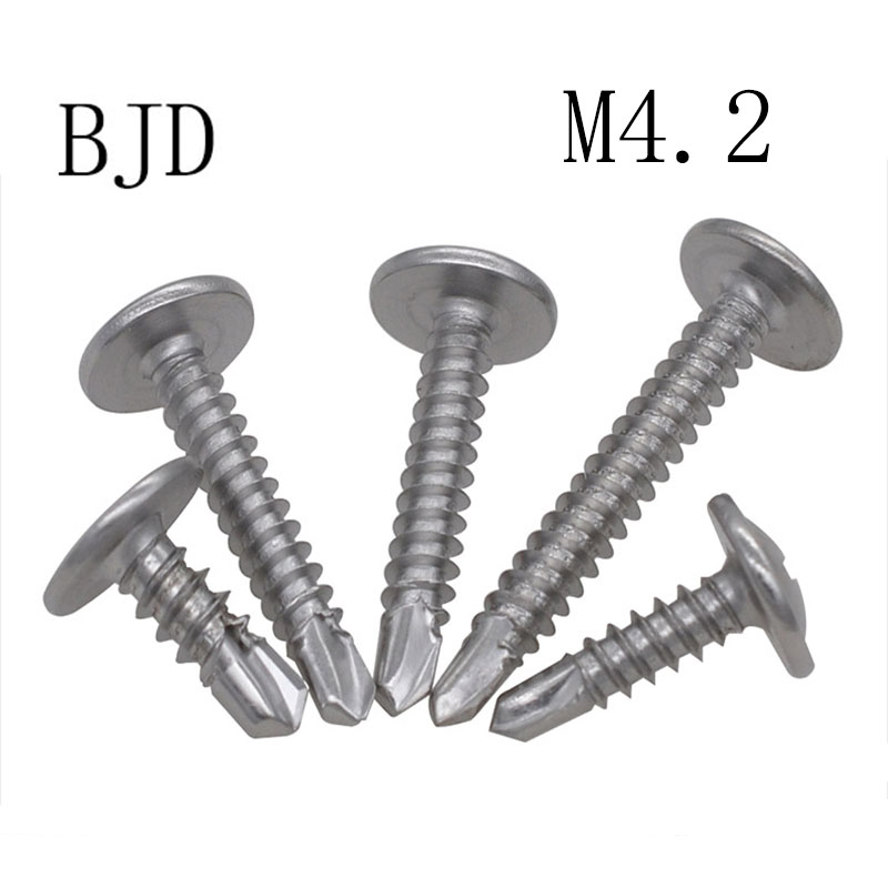 1 Length Small Parts 0816KPO410 82 Degree Oval Head #2 Drill Point 1 Length Phillips Drive 410 Stainless Steel Self-Drilling Screw Pack of 25 #8-18 Thread Size Plain Finish Pack of 25
