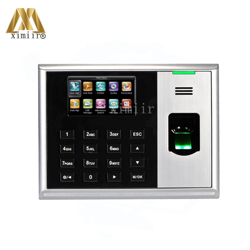 ZK S30 TCP/IP Biometric Fingerprint Time Attendance And Fingerprint Time Recording Time Clock Free Shipping zk tx628 tcp ip fingerprint time attendance with free software zk biometric fingerprint time clock