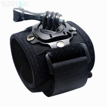 Accessories for Gopro 360 Degree Wrist Mount Band Strap And Screw For GO PRO Hero 4 3 3+ 2 SJ4000 SJ5000 Xiaomi Yi Action Camera