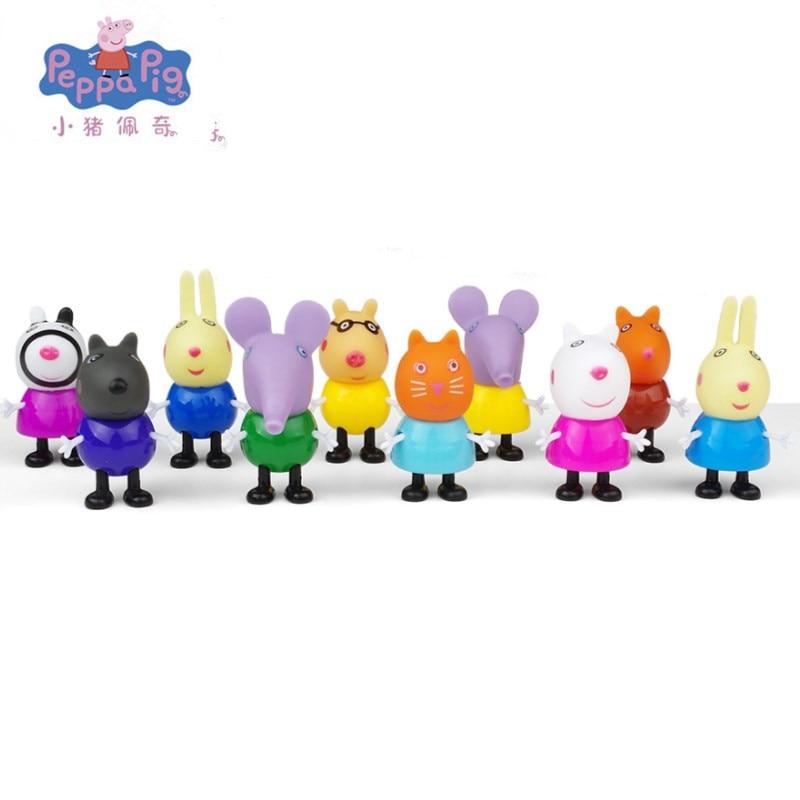 Hot sale Peppa pig toys George Action Figure pepa pig Original Pelucia Anime Pelucia
