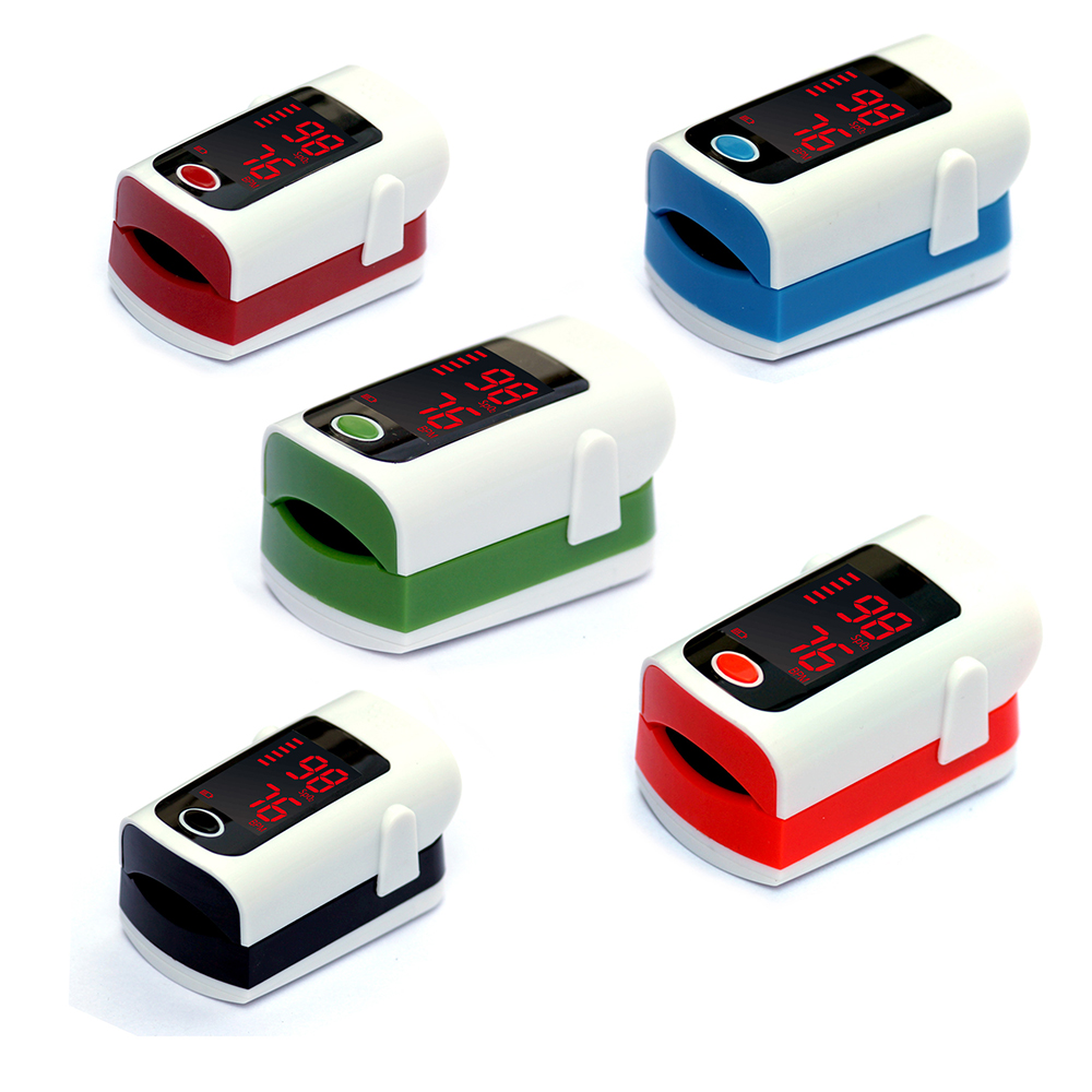 5 Sets finger oximeter LED Blood Pressure Monitor Medical Equipment Heartrate Monitor Portable Fingertip Oximetro