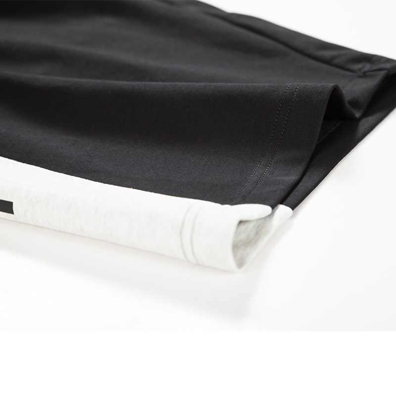 Mężczyźni letnie szorty na co dzień męskie marki nowe spodenki planszowe mężczyzna 2019 elastyczny pas krótkie spodnie moda plaża męska odzież sportowa homme
