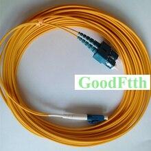סיבי תיקון כבל מגשר כבל SC LC UPC SC/UPC LC/UPC SM דופלקס GoodFtth 20 50 m