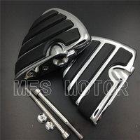 For Kawasaki Vulcan 1500 A/B MEAN STREAK 800 Classic Wing Billet Motorcycle Rear Foot Peg Motorcycle Part