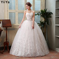 Free shipping 2015 new princess wedding gown lace romantic wedding dress fashion bride price under 50 Vestidos De Novia HS126