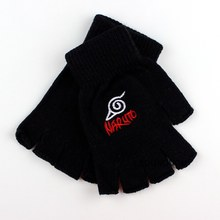 Bleach Attack on Titan Knitting Gloves Anime Naruto Plush Warm Mittens Superman Batman Tokyo ghouls Cosplay Fairy Tail Gloves