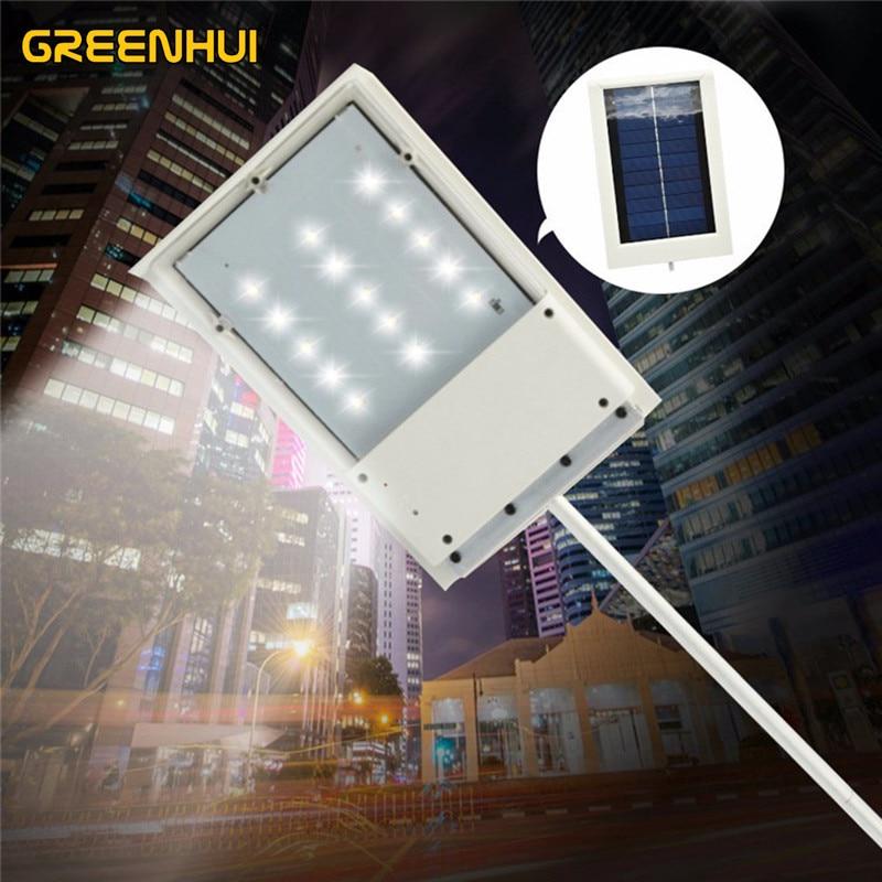 15LED Solar Power Light Control Sensor Street Lamp