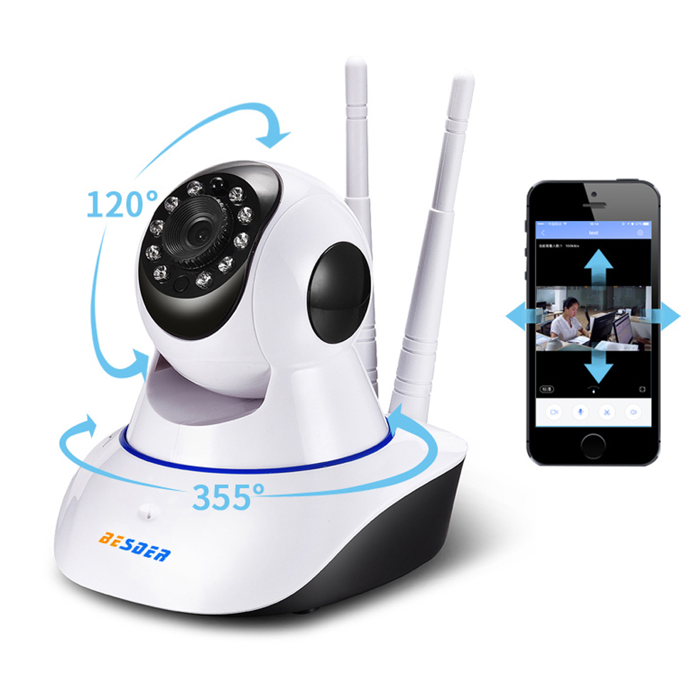 Besder Baby Monitor Yoosee 1mp Wifi Ip Camera Two Way