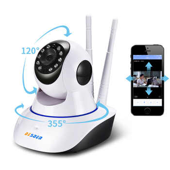 BESDER Baby Monitor Yoosee 1MP Wifi IP Camera Two-way Audio Pan Tilt ONVIF  P2P Alarm CCTV Home Security Camera 64G SD Card Slot - DISCOUNT ITEM  50% OFF All Category