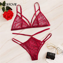COLROVIE Red Polka Dot สายรัด(China)