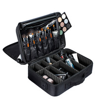 Professional Large Capacity Toiletries Makeup Storage Bag Cosmetic Case New