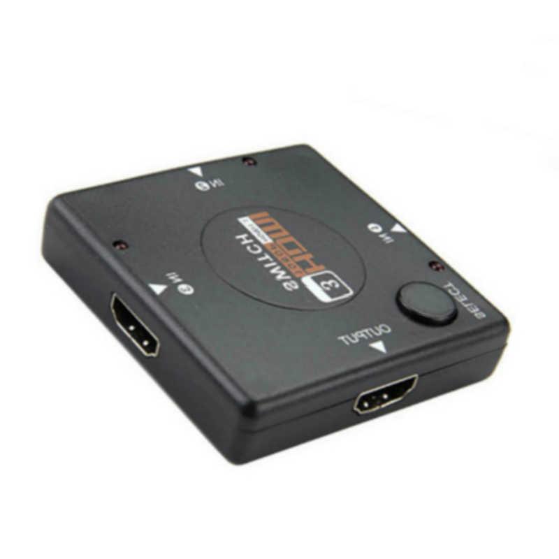 1080 P Mini 3 Port HDMI Switch HDMI Splitter HDMI Port untuk HDTV Vedio HDMI KVM Switcher untuk DVD PS3 XBOX