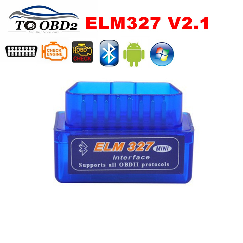 Автомобильный диагностический сканер ELM327 Bluetooth V2.1 OBD2 CAN-BUS тестер поддерживает Android Torque/Symbian работает с несколькими автомобилями ELM 327 HOT